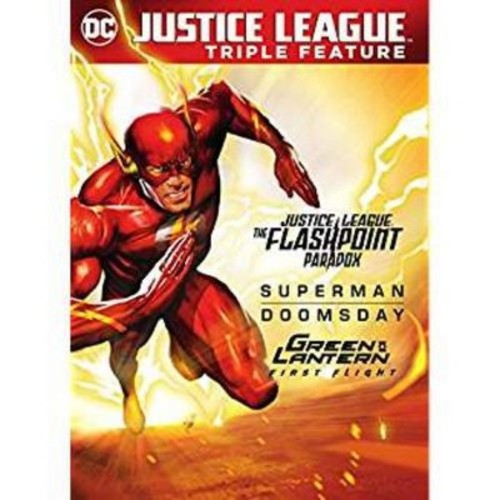 Justice League: Flashpoint Paradox / Superman Doomsday / Green Lantern: First Flight (DVD)