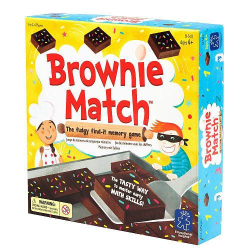 Educational Insights Brownie Match Memory Game