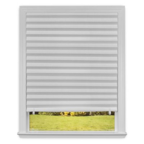 RediShade Light Filtering 36-Inch x 72-Inch Cordless Pleated Shade in White (Set of 6)