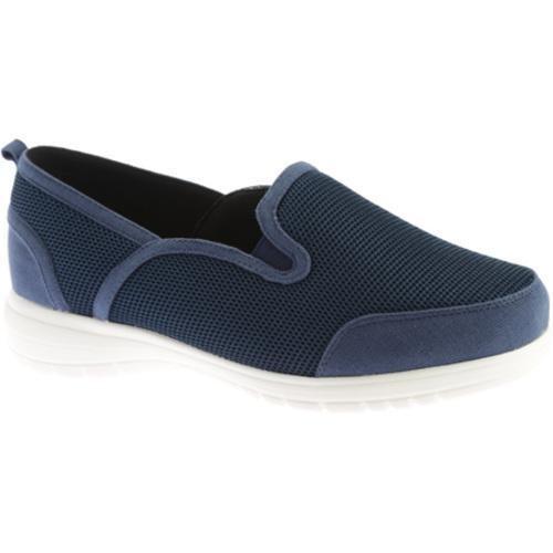 Women's Beacon Shoes Dandy Sneaker Navy Mesh Textile