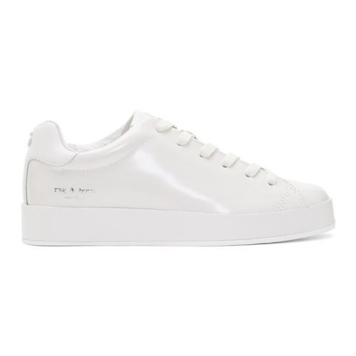 RAG & BONE Off-White Rb1 Low Sneakers