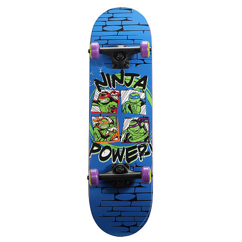 PlayWheels Teenage Mutant Ninja Turtles 28 inch Skateboard - Ninja Power