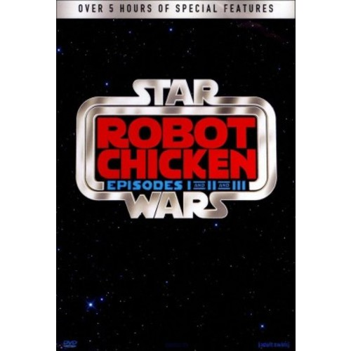 Robot Chicken: Star Wars I-III (3 Discs) (dvd_video)