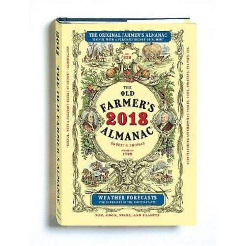 Farmer's Almanac 2018 (Hardcover)