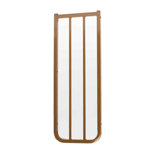 Cardinal Gates 30 in. H x 10.5 in. W x 2 in. D Extension for Stairway Special or Auto Lock Gate Brown
