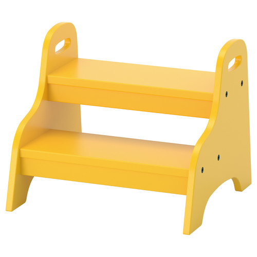 TROGEN Child's step stool, yellow