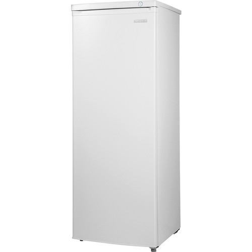 Insignia - 5.8 Cu. Ft. Upright Freezer - White