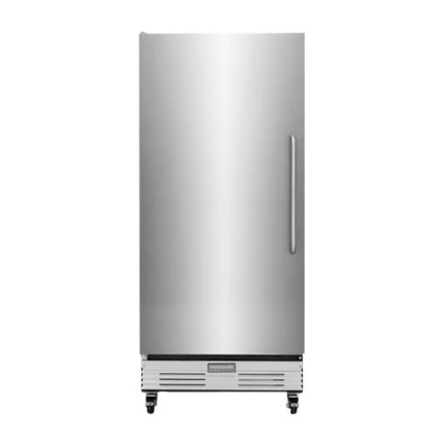 Frigidaire - Commercial 17.9 Cu. Ft. Frost-Free Upright Freezer - Stainless steel