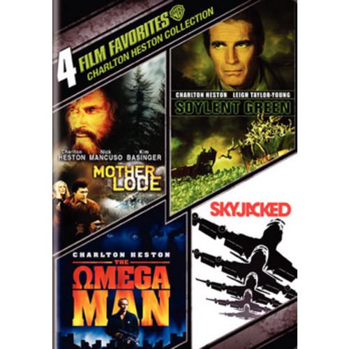 Charlton Heston Collection: 4 Film Favorites [4 Discs] [DVD]