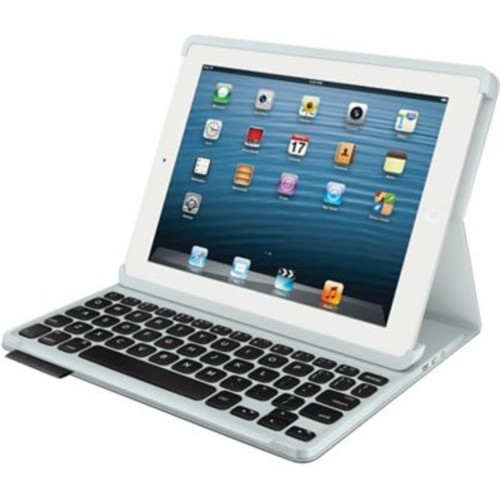 Logitech Keyboard Folio Case for Apple iPad 2, iPad 3rd Generation and iPad with Retina - Carbon Black