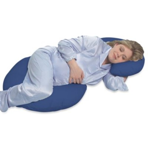 Leachco Snoogle Total Body Pillow in Navy