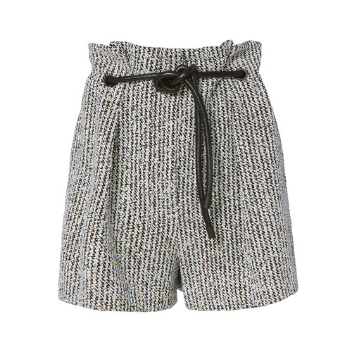 3.1 PHILLIP LIM Origami Pleated Bouclé Shorts