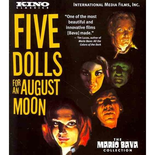 5 Dolls for an August Moon (Blu-ray Disc) [5 Dolls for an August Moon Blu-ray Disc]