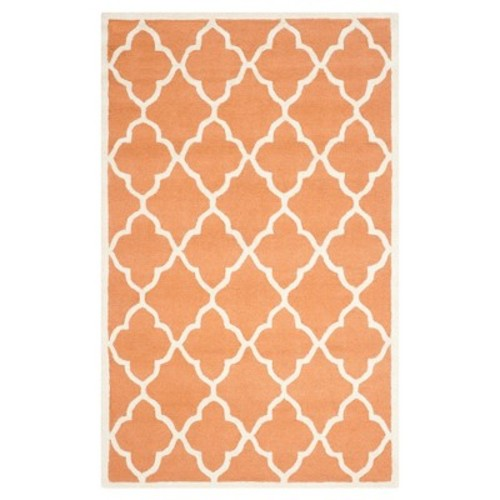 Safavieh Cambridge Coral/Ivory 5 ft. x 8 ft. Area Rug