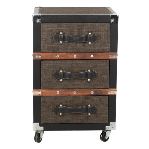 Safavieh Lewis 3-Drawer Rolling Storage Chest