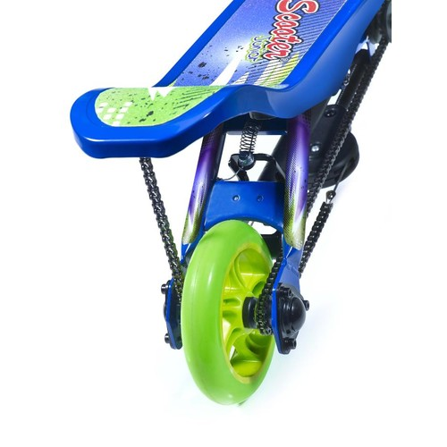 Space Scooter Junior 2 Wheel Scooter - Blue