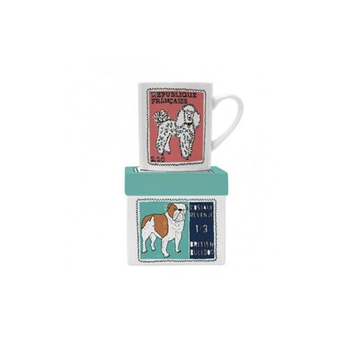 Poodle Bulldog Mug
