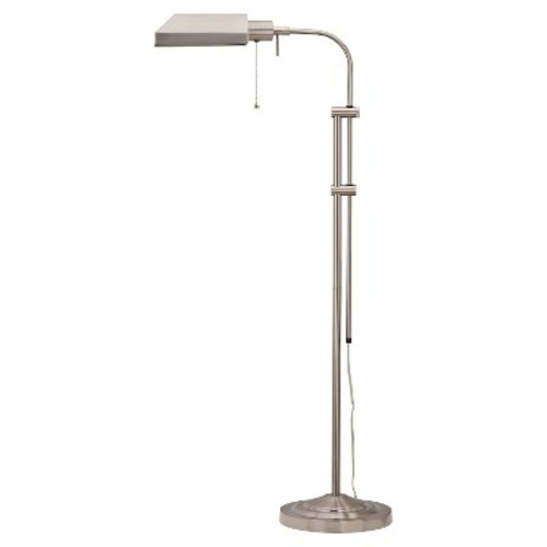 Cal Lighting BO-117FL-BS Floor Lamp with No Shades, Brushed Steel Finish [Brushed Steel]