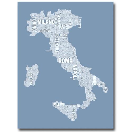 Trademark Fine Art 'Italy in Blue' 24