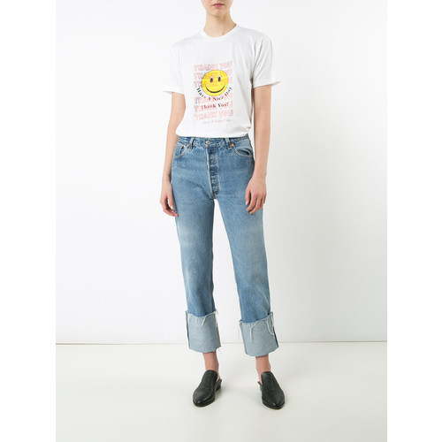 ROSIE ASSOULIN 'Thank You Smiley Face' T-Shirt