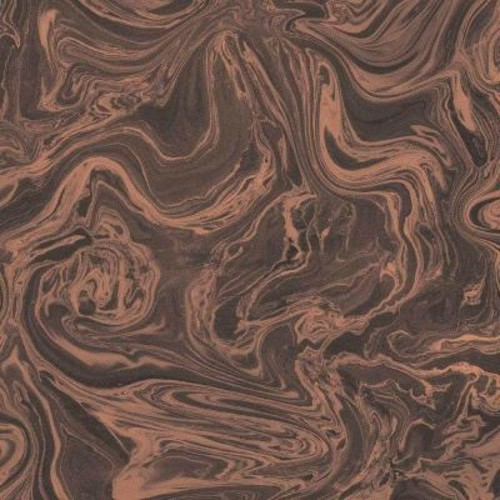 Graham & Brown Charcoal and Rose Gold Marbled Wallpaper