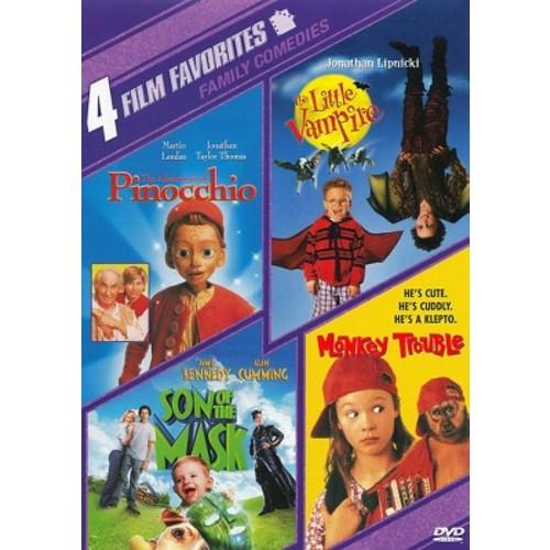 Family Comedies: 4 Film Favorites [2 Discs]