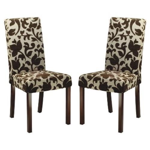 Dining Chair Wood/Brown/Beige - Safavieh