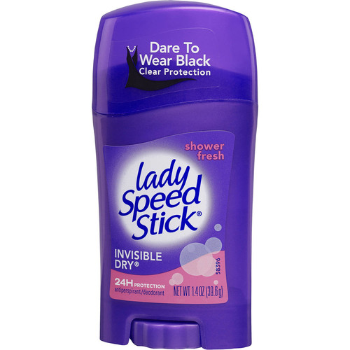 Lady Speed Stick Lady Speed Stick Invisible Dry Antiperspirant Deodorant Shower Fresh
