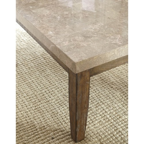 Greyson Living Coffee, Console, Sofa & End Tables Fulham Marble Top Coffee Table by Greyson Living