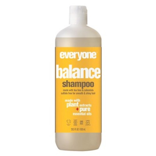 Everyone Sulfate-Free Balance Shampoo, Refreshing Clary Sage and Tea Tree, 20 Fl. Oz.