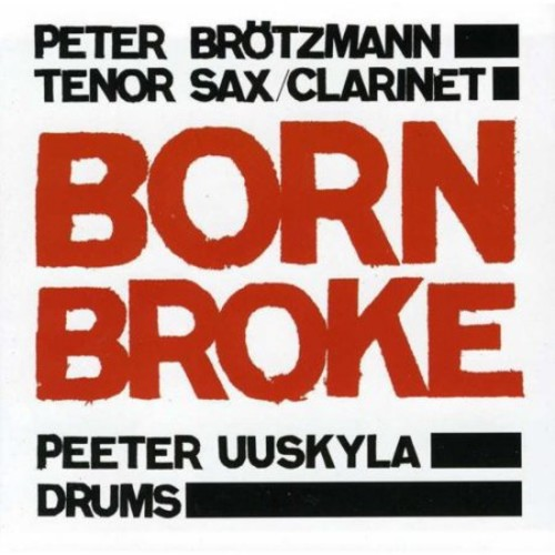 Born Broke [CD]