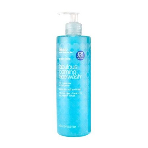 bliss Super-Size Fabulous Foaming Face Wash, 15.5 oz