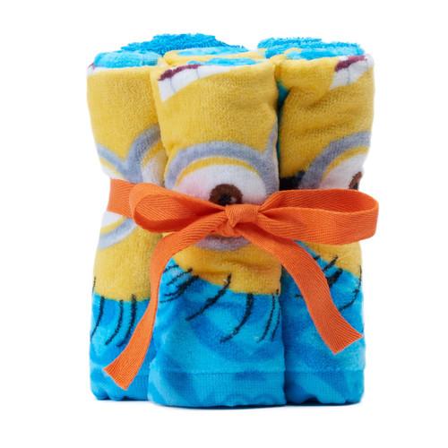 Minions Mayhem 6-pack Washcloths