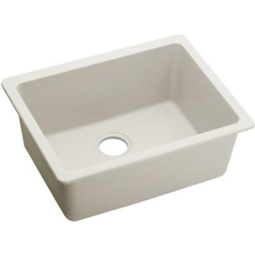 Elkay Quartz Luxe 25'' x 18.5'' Single Bowl Dual Mount Kitchen Sink; Ricotta