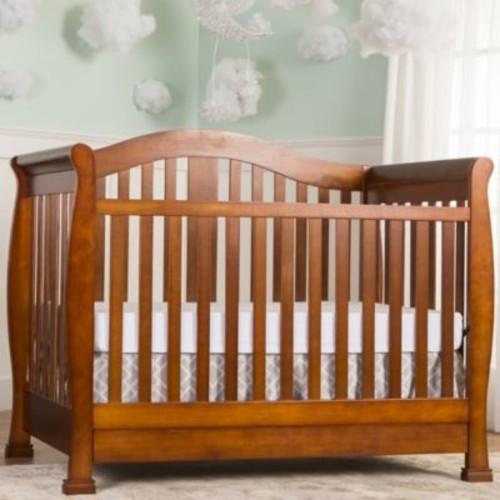 Dream On Me Addison 5-in-1 Convertible Crib With Drawer, Espresso