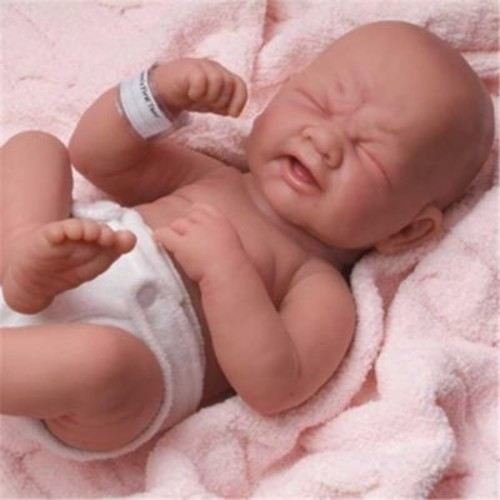 Dolls By Berenguer La Newborn Real Girl Doll - Size 14 Inch (DDB139)
