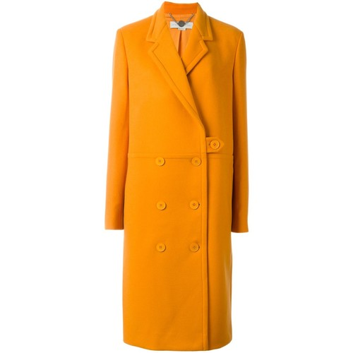 STELLA MCCARTNEY Double Breasted Button-Up Coat