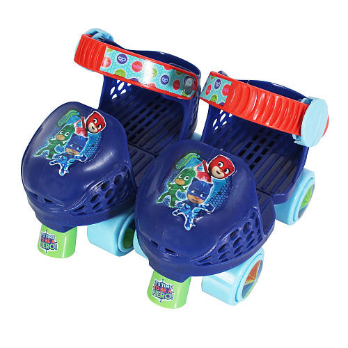 Playwheels Youth PJ Masks Roller Skates and Knee Pads