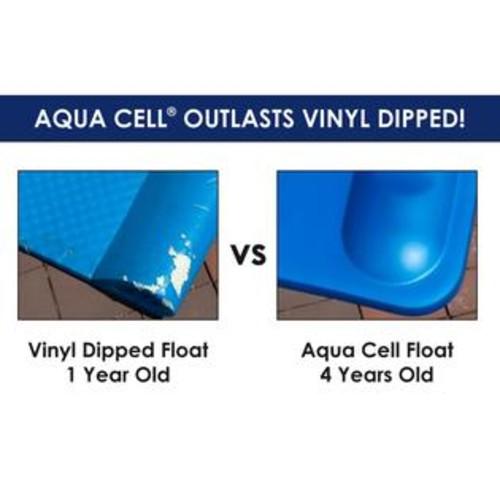Blue Wave Aqua Saddle Pool Float - Lime