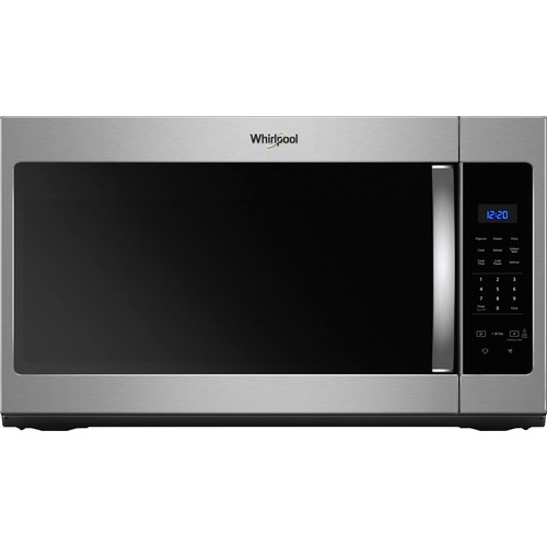 Whirlpool - 1.7 Cu. Ft. Over-the-Range Microwave - Fingerprint Resistant Stainless Steel