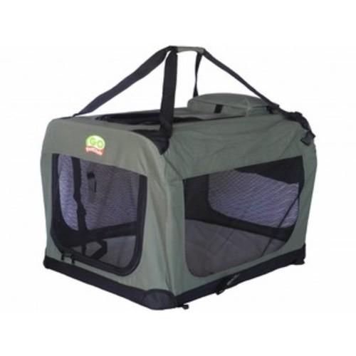 Guardian Gear Small Soft Pet Crate Grey