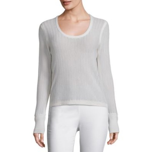 RAG & BONE Estelle Herringbone Cashmere Sweater