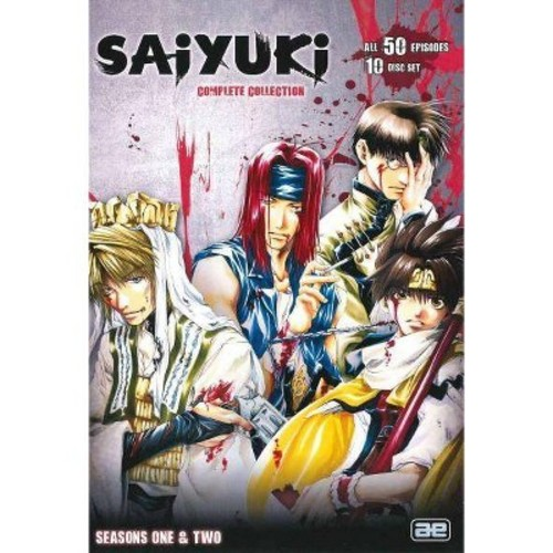 Saiyuki: Complete Collection [10 Discs]