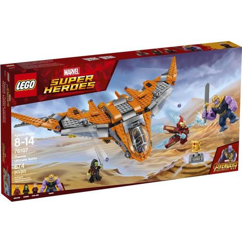 LEGO Super Heroes Marvel Avengers Movie 76107