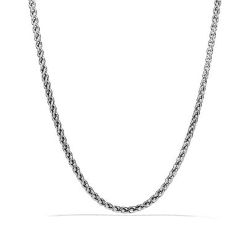 Small Wheat Chain Necklace, 18