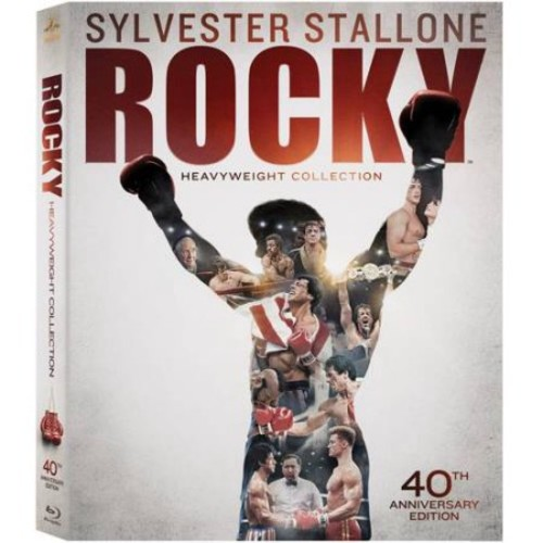 Rocky Heavyweight Collection 40th Anniversary Edition (Blu-ray)