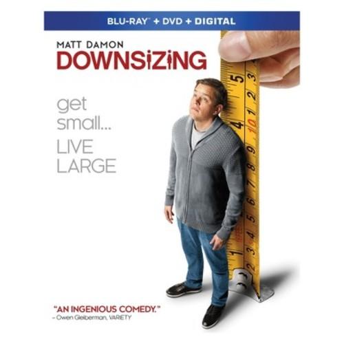 Downsizing (Blu-ray + DVD + Digital)