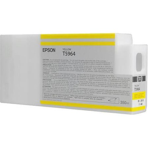 Epson T596400 HDR 350ml Yellow Resin Pigment Ink f/7890, 7900, 9890 & 9900 T596400