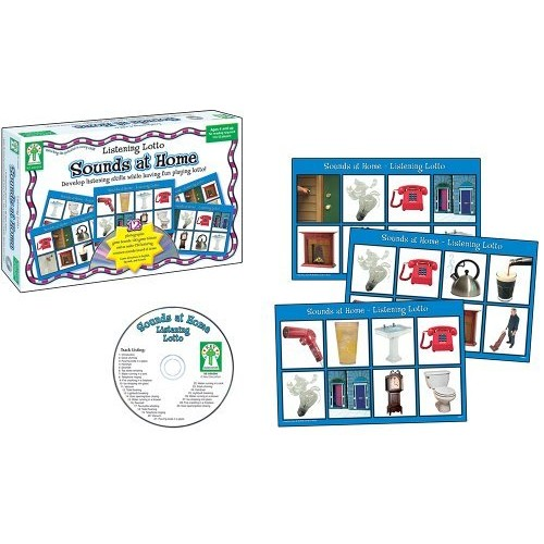 Key Education Listening Lotto: Sounds at Home Educational Board Game [1]