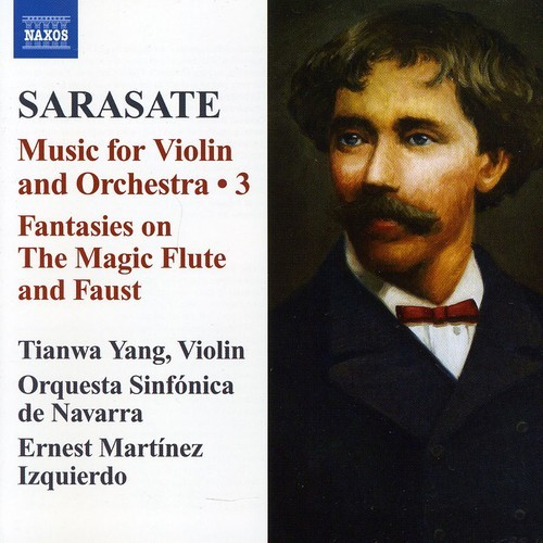 Pablo Sarasate: Music for Violin & Orchestra, Vol. 3 [CD]